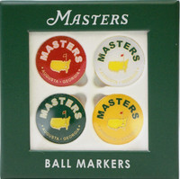 2020 Masters 4 Pack Ball Markers