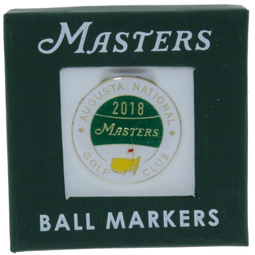 2018 Masters Ball Marker