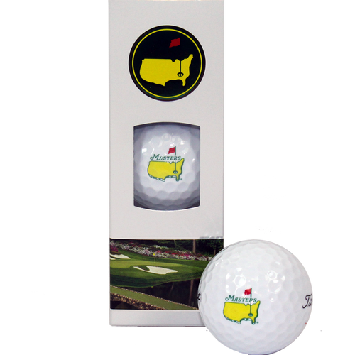 2018 Masters Golf Balls - 3 Pack Velocity
