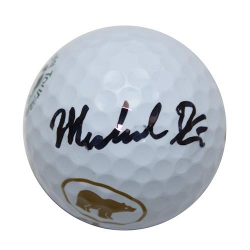 Hunter Mahan Autographed Golf Ball
