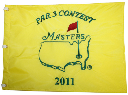 Kenny Perry Signed 2006 Masters Flag - JSA - COA
