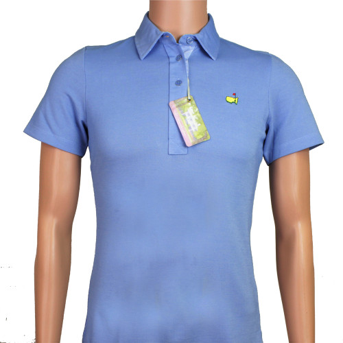 Masters Magnolia Lane Light Blue Polo