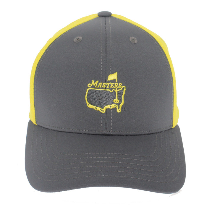 Masters Grey and Yellow Performance Hat