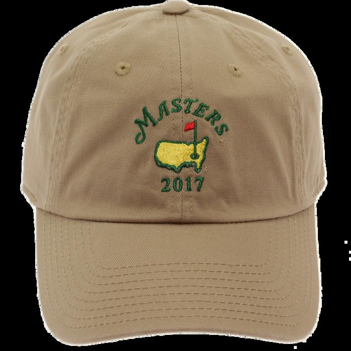 2017 Masters Khaki Caddy Hat