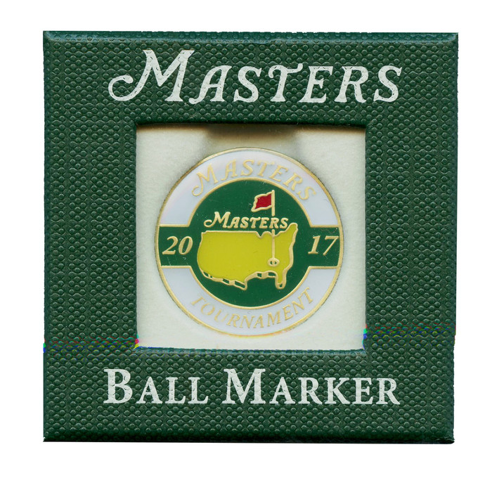 2017 Masters Ball Marker