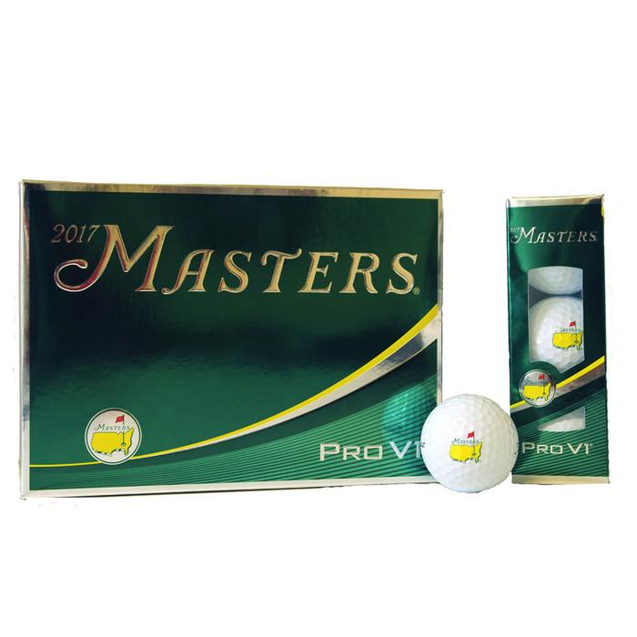 2018 Masters Golf Balls - Dozen - Pro V1
