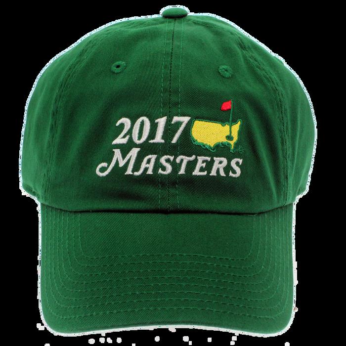2018 Masters Big Logo Green Caddy Hat