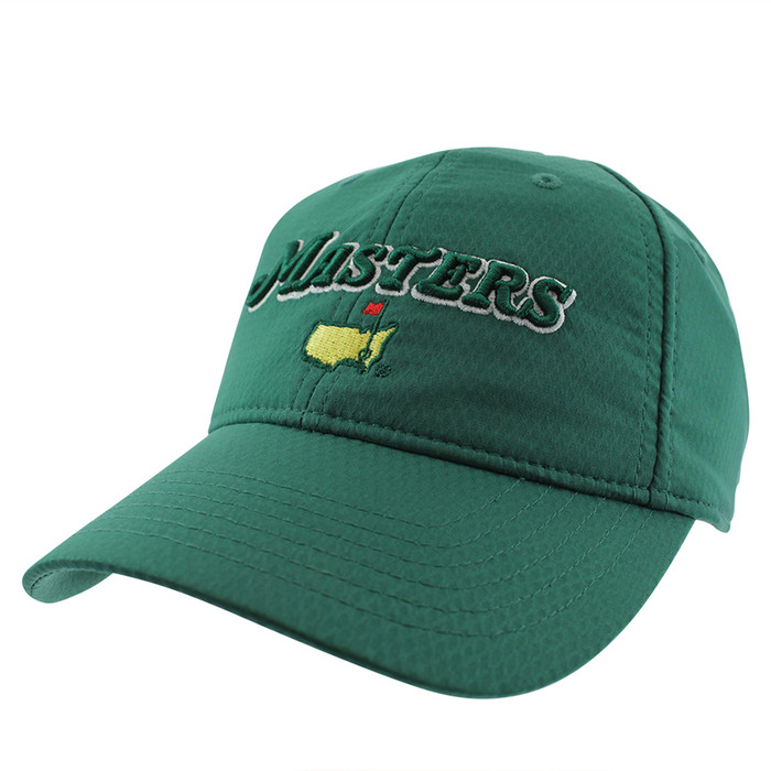 2019 Masters Green Performance Dated Logo Hat