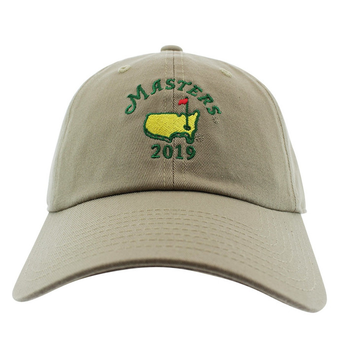 2019 Masters Dated Khaki Caddy Hat