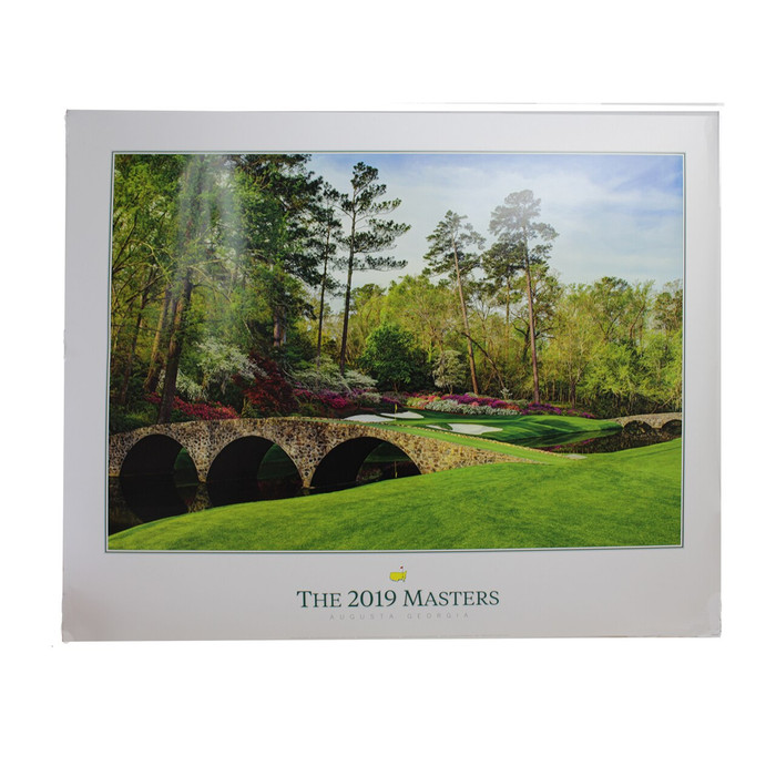 2019 Masters Commemorative Poster