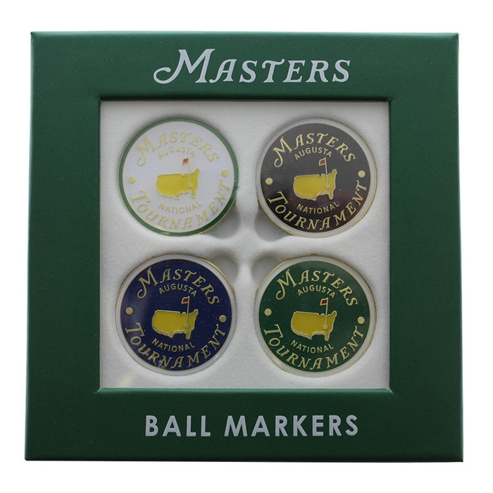 2019 Masters 4 Pack Ball Markers