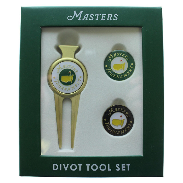 2019 Masters Divot Tool with Two Extra Ball Markers