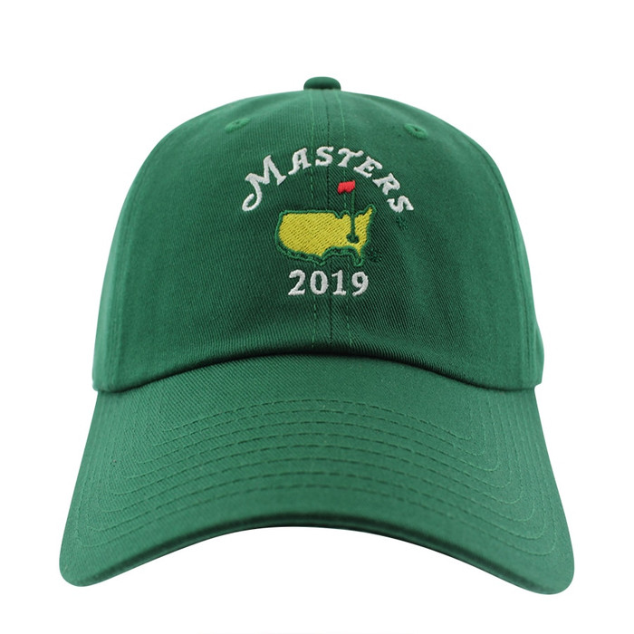 2019 Dated Masters Green Caddy Hat