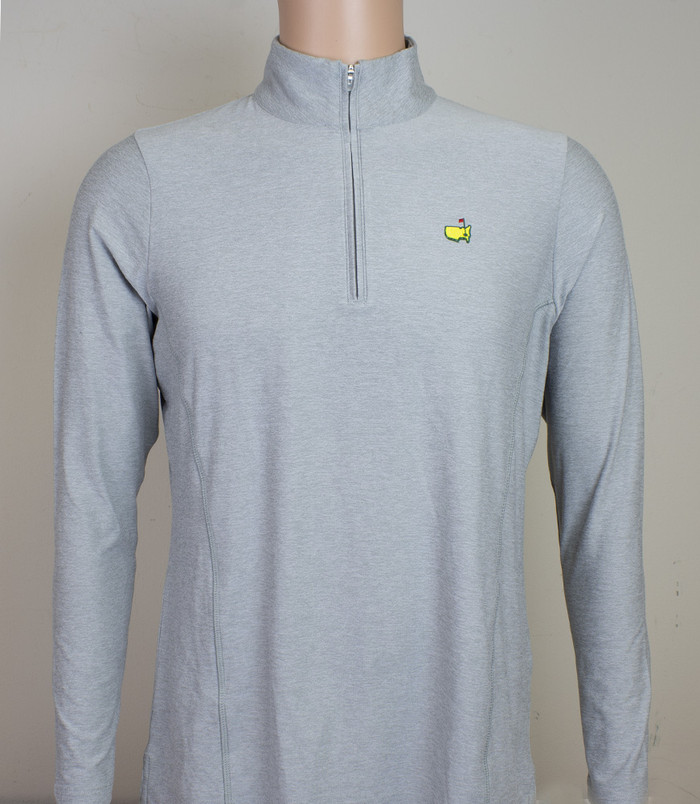 Magnolia Lane Grey Quarter Zip  Pullover