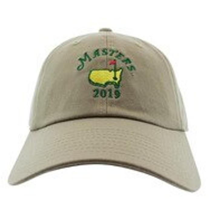 2020 Masters Khaki Caddy Hat