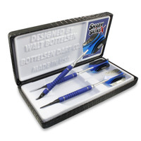 All SharkSkinsXtreme™ soft tip darts come packaged in a Deluxe Showcase.