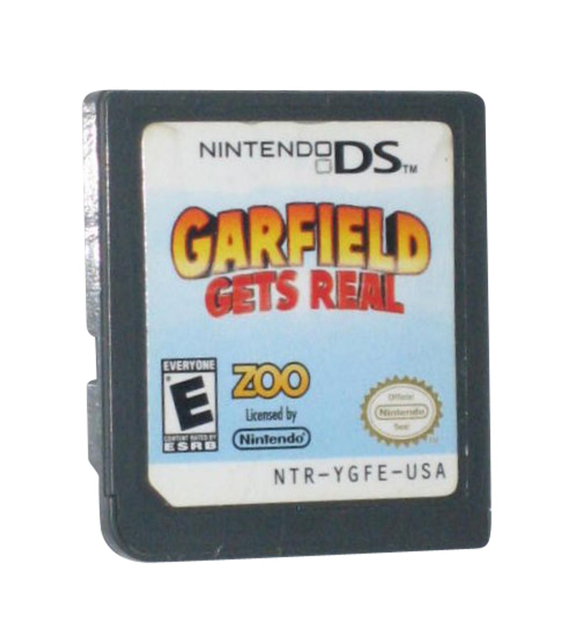 Garfield Gets Real Nintendo Ds Video Game Cartridge Only Gkworld