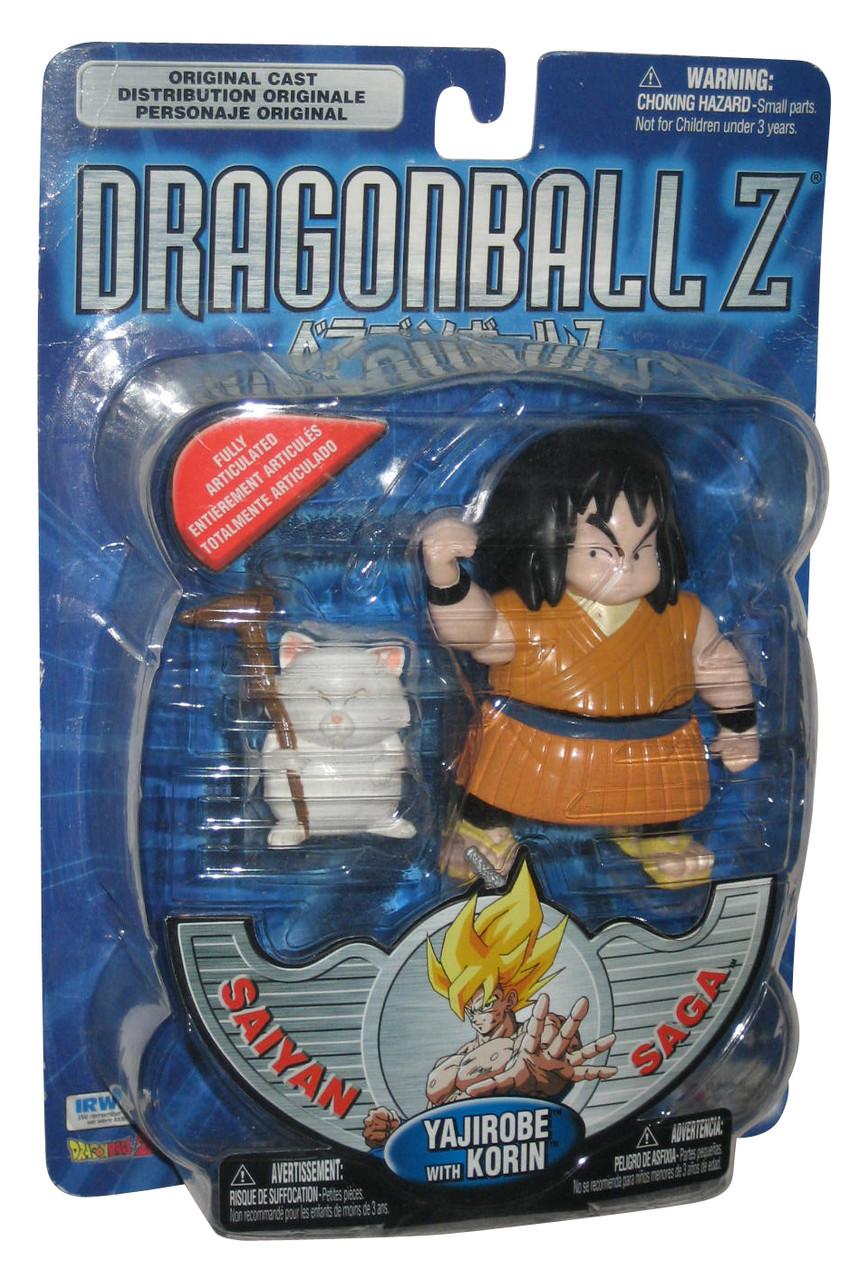 Dragon Ball Z Saiyan Saga Yajirobe Action Figure w// Korin NEW Mint on Card!