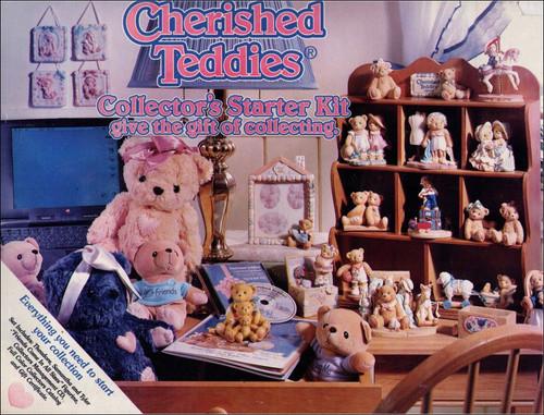 Cherished Teddies Vintage (1999) Enesco Figure Collector's Starter Kit