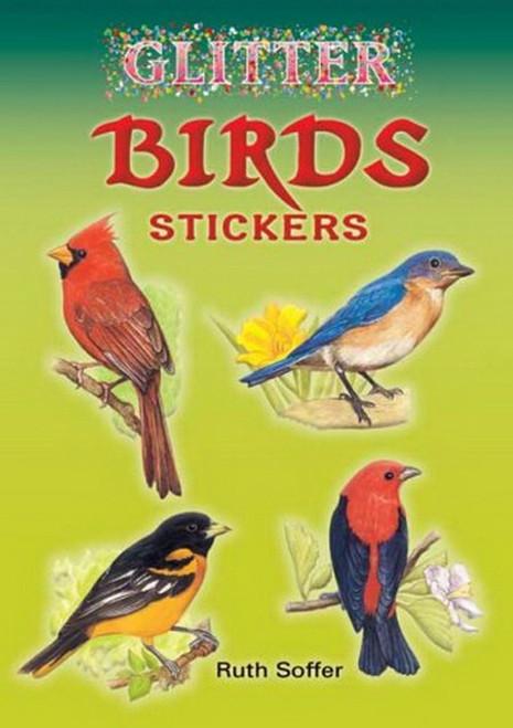 Glitter Birds Baltimore Oriole Bluebird Stickers