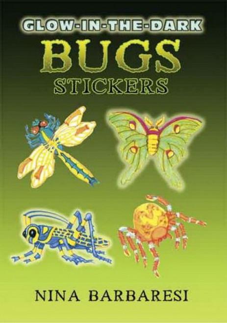 Glow-in-the-Dark Bugs Sticker Set - 13 Stickers