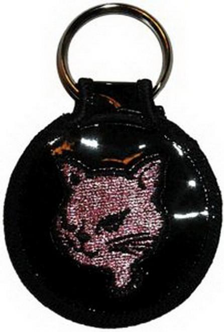 Cat Embroidered Keyfob Keychain KF-0012