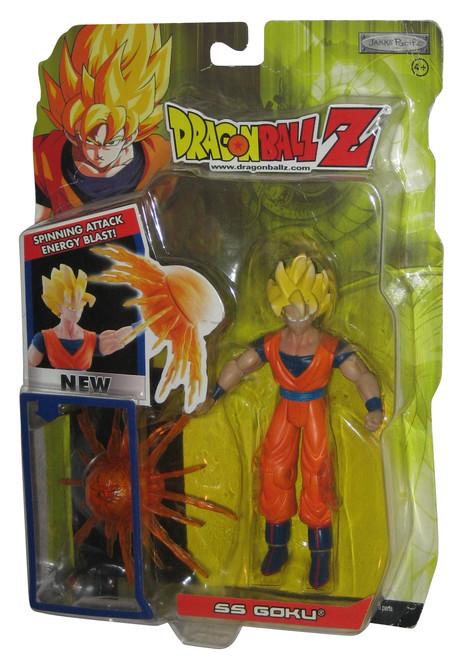 Dragon Ball Z SS Goku (2004) Series 16 Jakks Pacific Figure - Spinning Attack Energy Blast