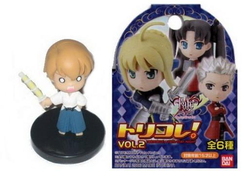 Fate Stay Night Toricolle Vol. 2 Taiga Fujimura (A) Trading Figure (Bandai)