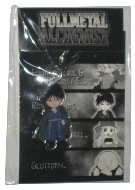 Full Metal Alchemist Roy Mustang Anime Clip-On Zipper Charm Keychain