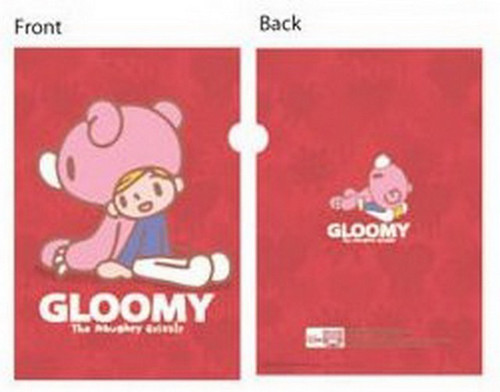 Gloomy Bear Clear Folder MC0102