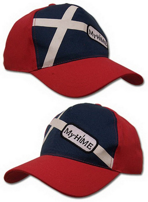 My Hime Logo Anime Red & Blue Hat GE-2273