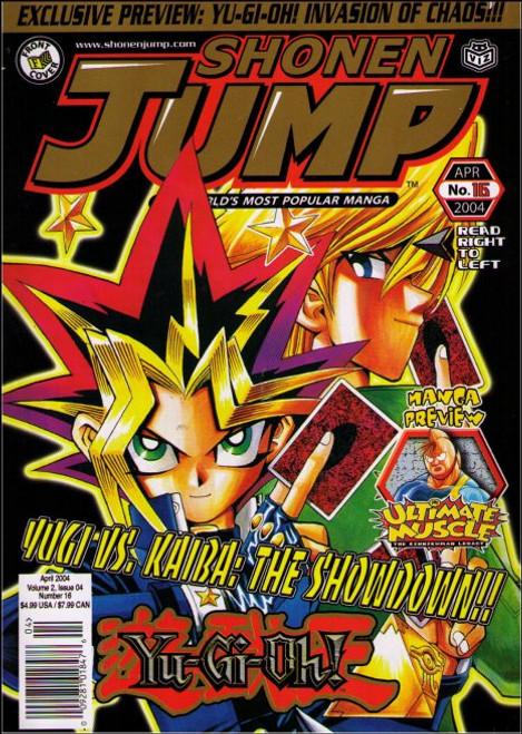 Shonen Jump April 2004 Vol. 2 Issue 04 No. 16 Manga Anime Magazine Book