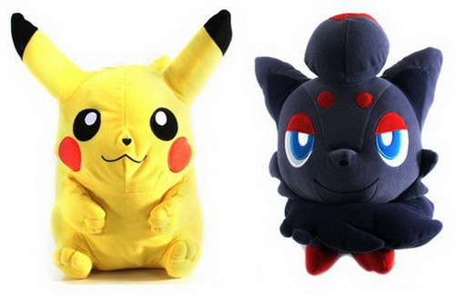 Pokemon Pikachu and Zoroa Super DX Plush Set 46729