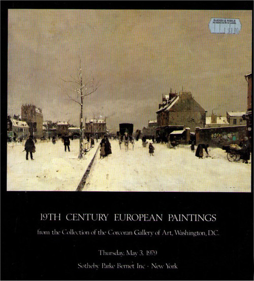 19th Century European Paintings (1979) Paperback Book - (Collection of Corcoran Gallery of Art)