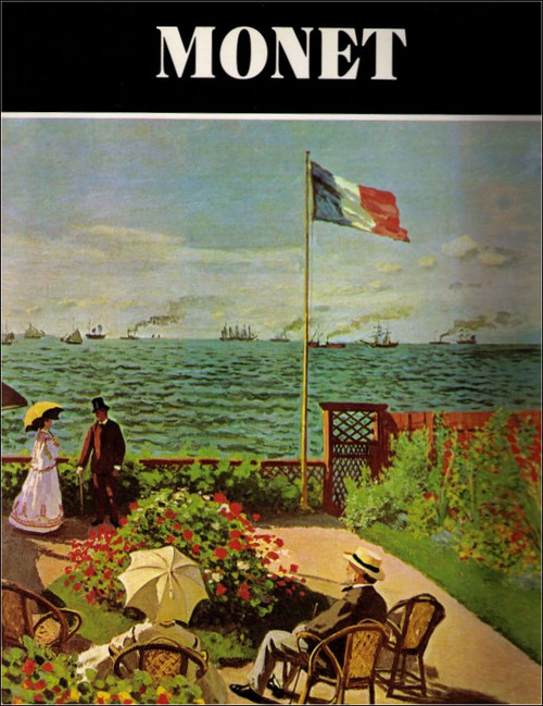 Monet The Avenel Art Hardcover Book - (Alberto Martini)