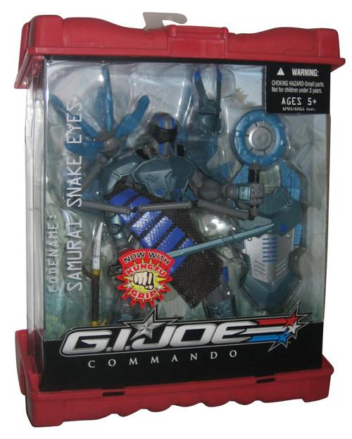 GI Joe Commando Samurai Snake Eyes Kung Fu Grip Ninja Action Figure