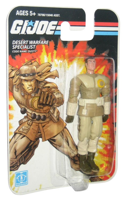 GI Joe Desert Warfare Specialist Dusty (2008) 3.75 Inch Figure