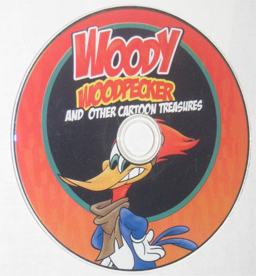 Woody Woodpecker And Other Cartoon Treasures DVD