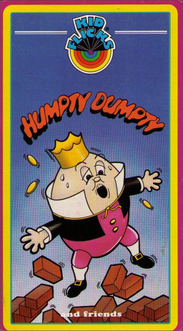 Humpty Dumpty And Friends Kid Flicks Vintage Kids VHS Tape