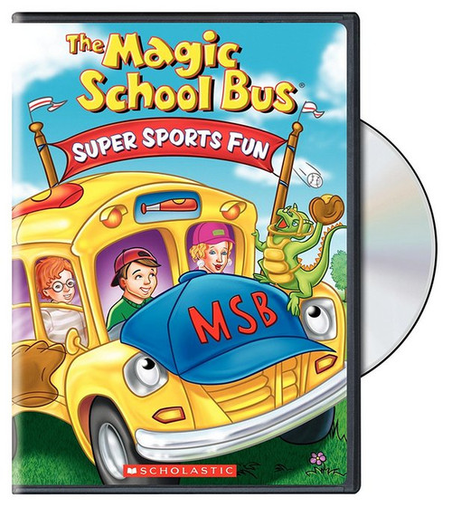 Magic School Bus: Super Sports Fun (2004) DVD