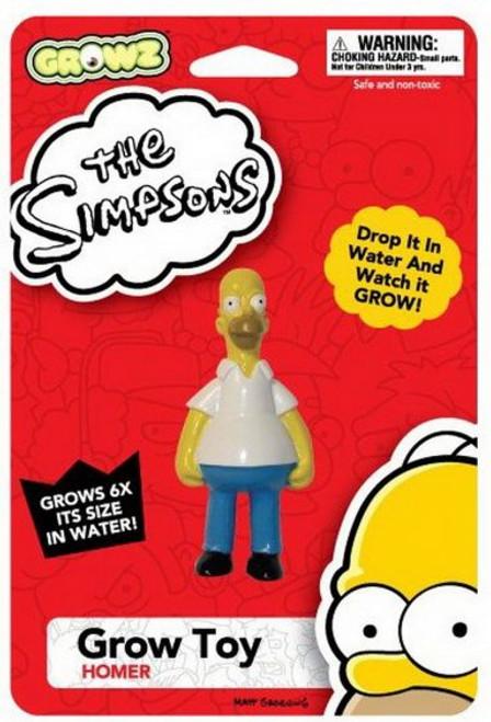 Simpsons Homer Growz Water Toy Figure 09405