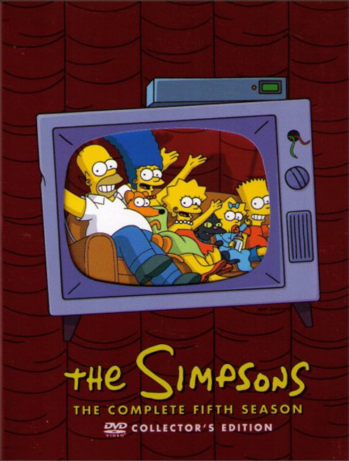 The Simpsons Complete Fifth Season Collectors Edition DVD Box Set