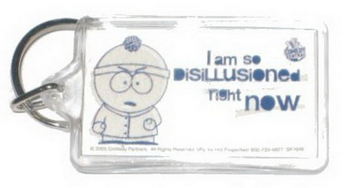 South Park Disillusioned Stan Lucite Keychain