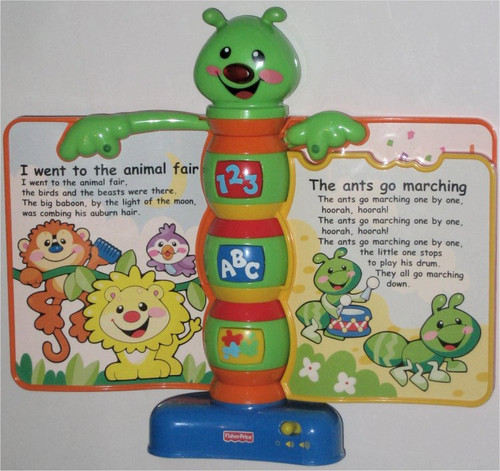 Fisher-Price Laugh & Learn Storybook Rhymes Music Toy
