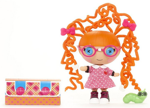 Lalaloopsy Littles Silly Hair Doll Specs Reads-A-Lot Doll