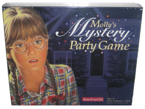 American Girl Collection Molly's Mystery Party Board Game