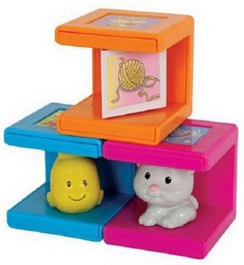 Cubikals Stack N Play Safety 1st Block Toy Set (3 Blocks)