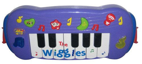 The Wiggles Play Along Musical Keyboard Kids Piano Toy