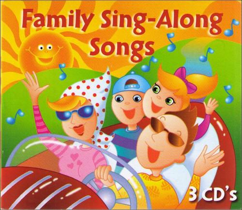Family Sing Along Songs Music CD Box Set - (3CDs)