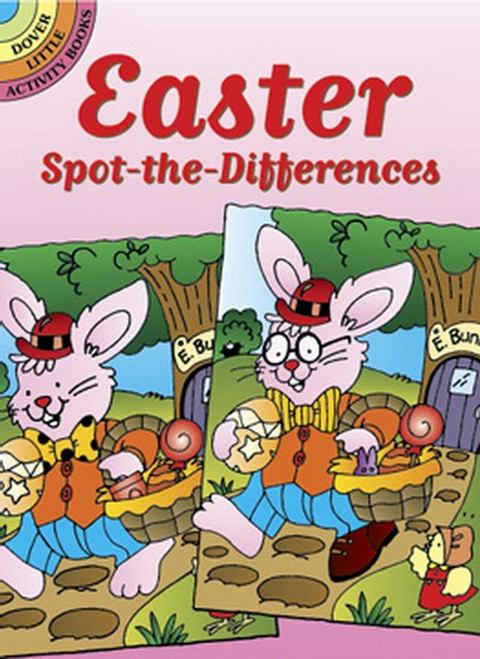 Easter Spot-the-Differences Puzzle Book